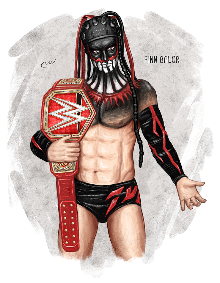 Wwe Finn Balor Wwe Universal Championship By Baguettepang Finn Balor Wwe Finn