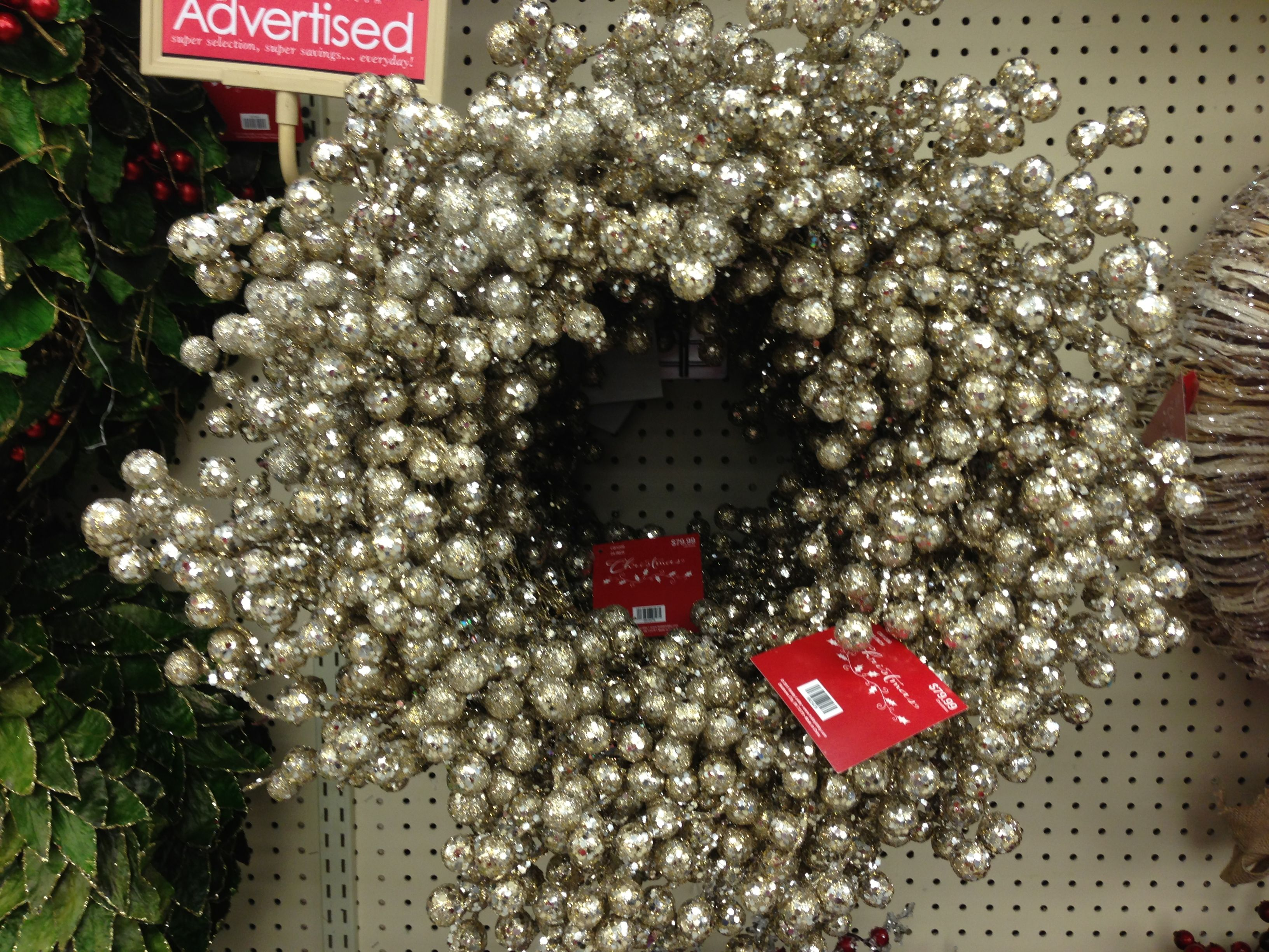 hobby lobby christmas wreath two hobby lobby christmas christmas wreaths lobbies - Hobby Lobby Christmas Wreaths