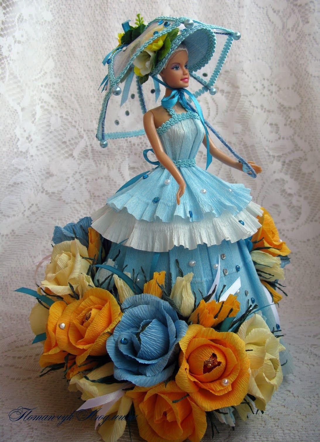 поделки кукол из конфет фото квартиру для