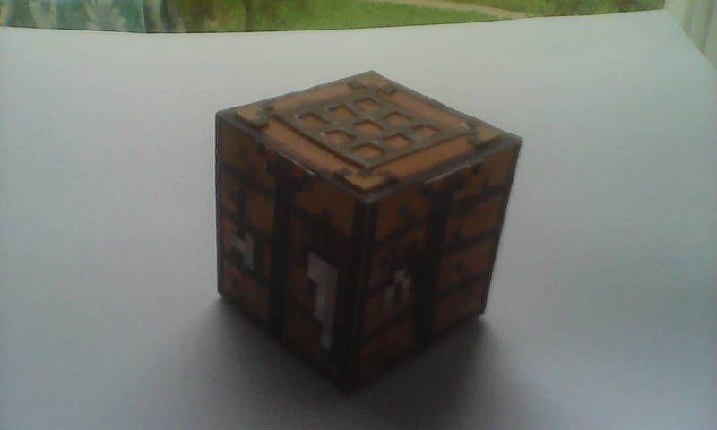 Papercraft Advanced Crafting Table Molde De Minecraft