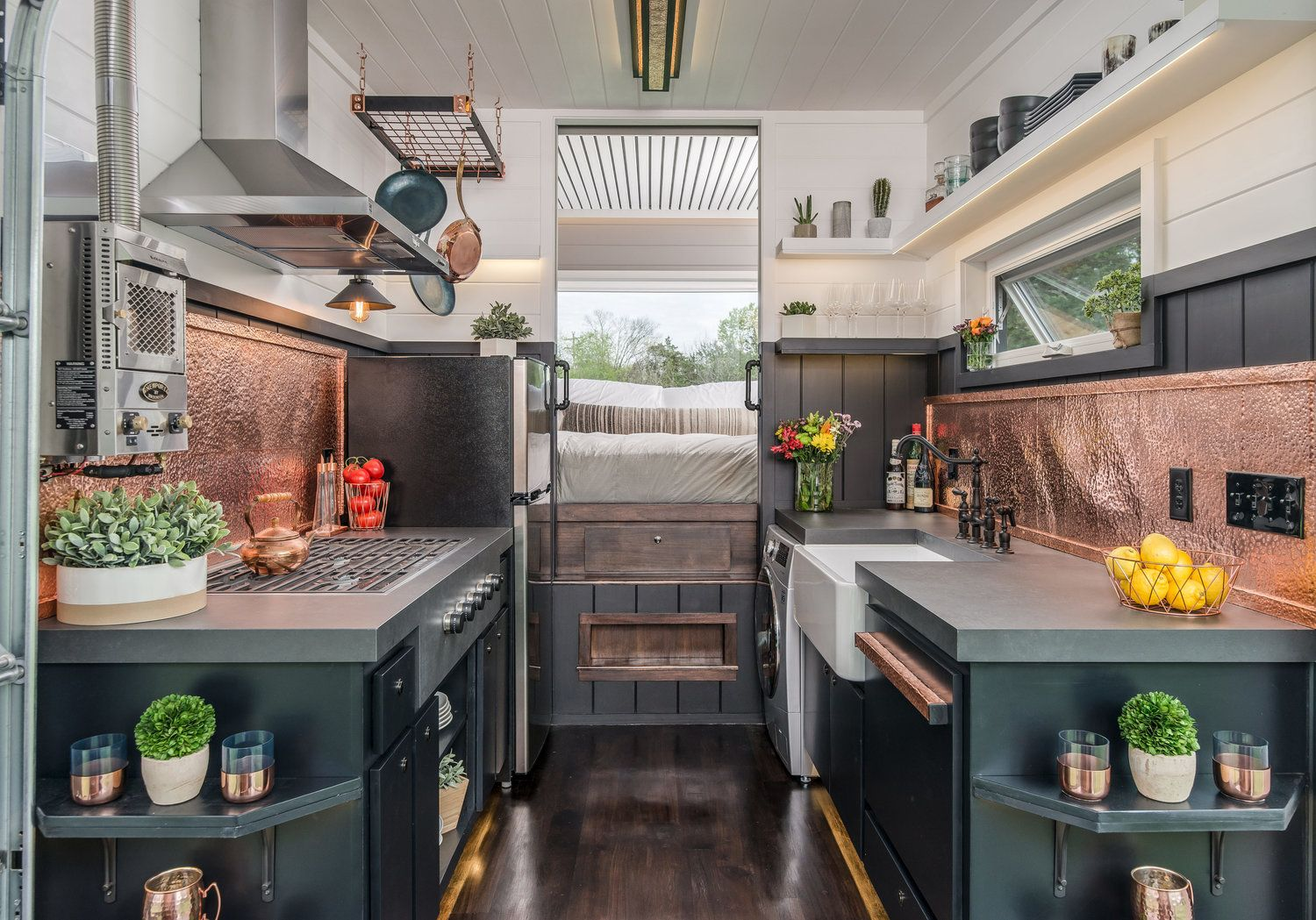 The Escher By New Frontier Tiny Homes Tiny House Kitchen