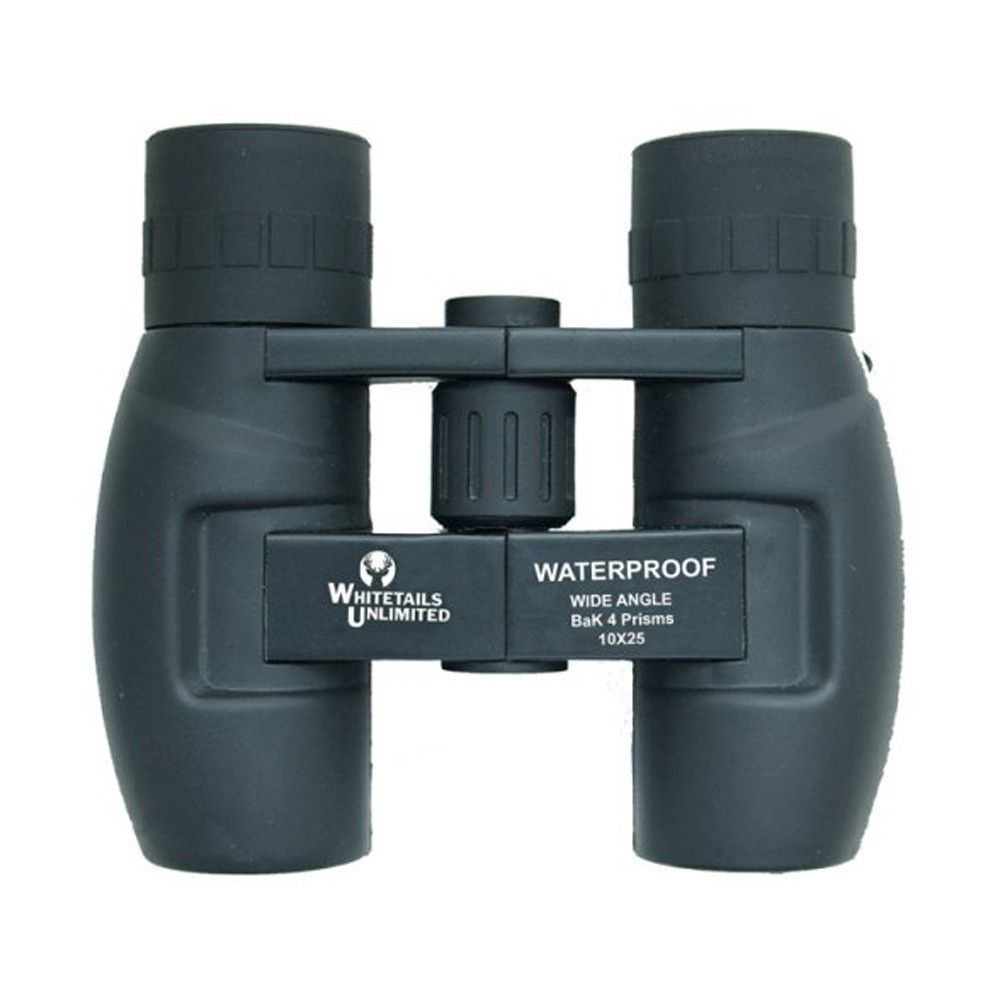 PENTAX 10 x 25 DCF WP Whitetails Unlimited Series Binoculars - Clamshell Pack
