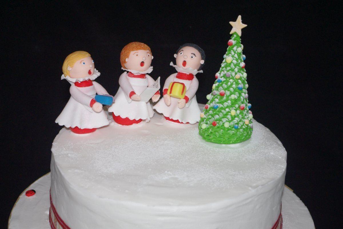 Little chorister christmas cake christmas cake cake