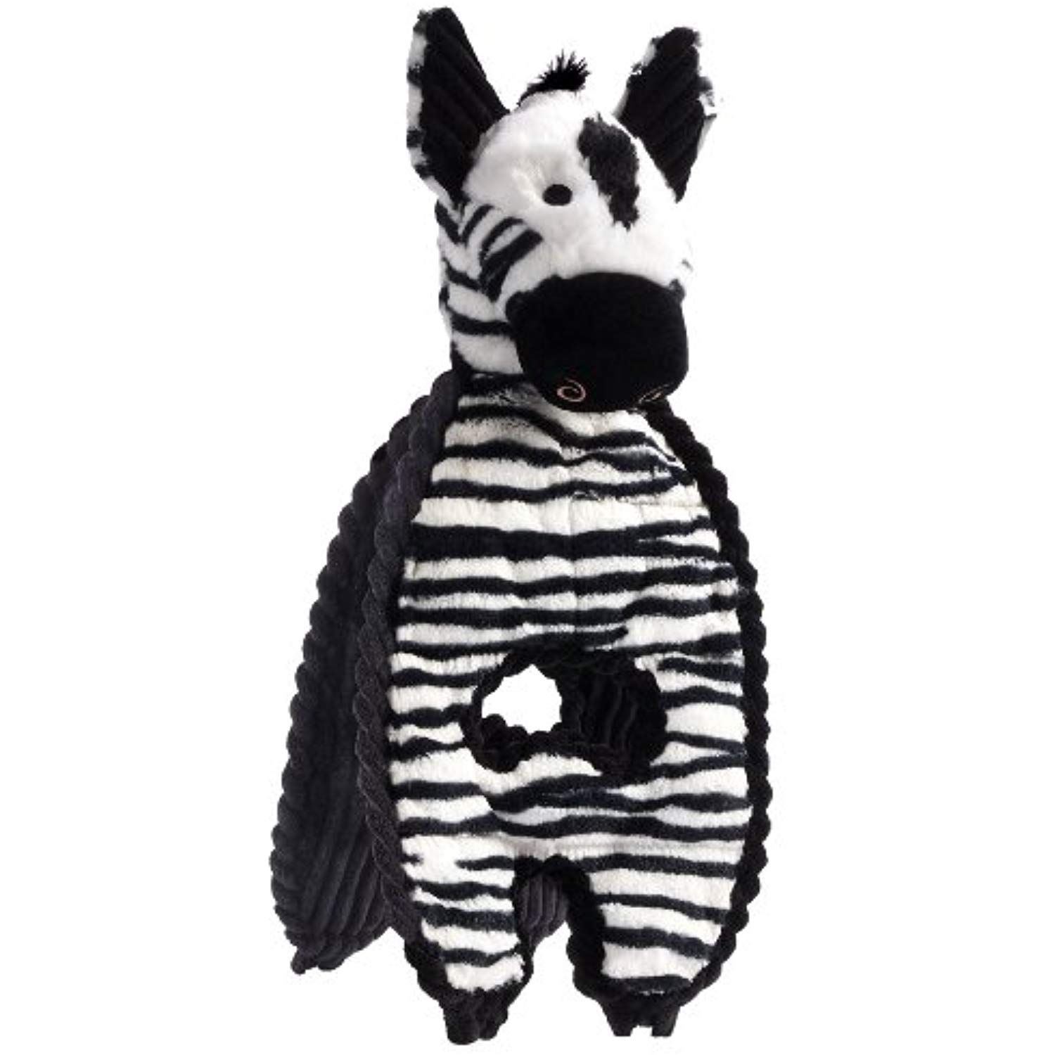 Charming Pet Cuddle Tugs Pet Squeak Toy Zebra Details Can Be