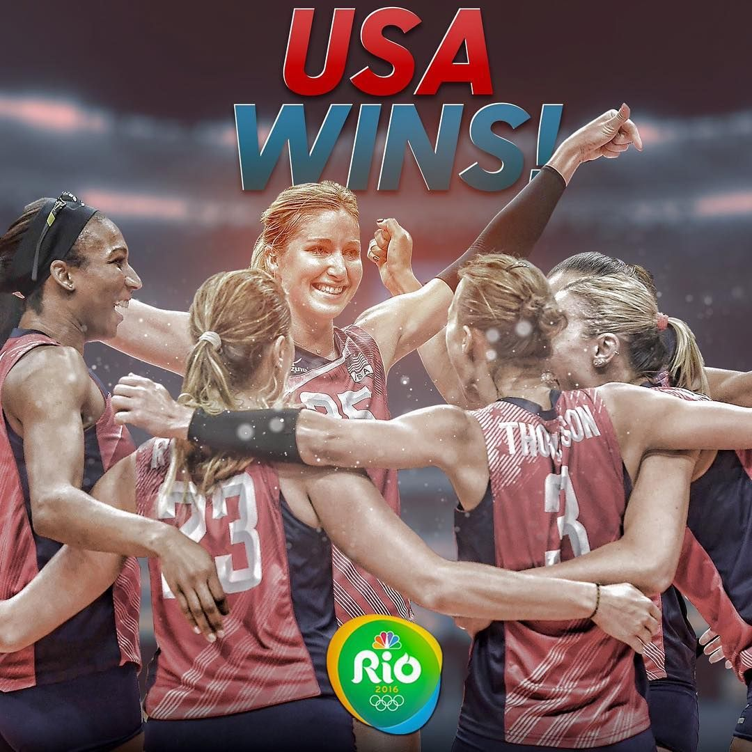 08 201 16 Team Usa Defeats Netherlands To Win Bronze In Women S Volleyball Nbc Olympics Olympic Volleyball Olympics