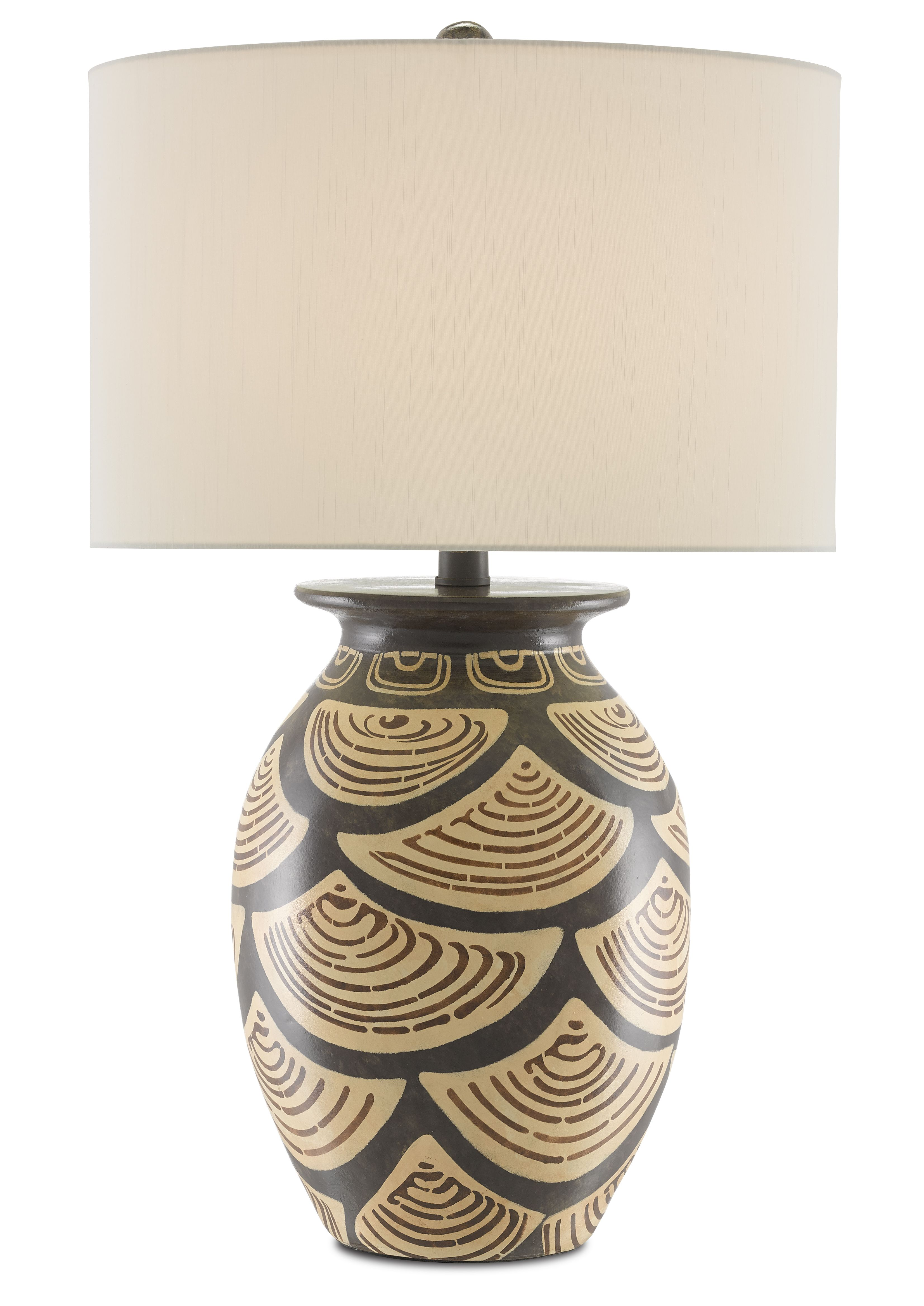 Nahau Table Lamp Currey And Company In 2020 Lamp Brown Lamps Table Lamp