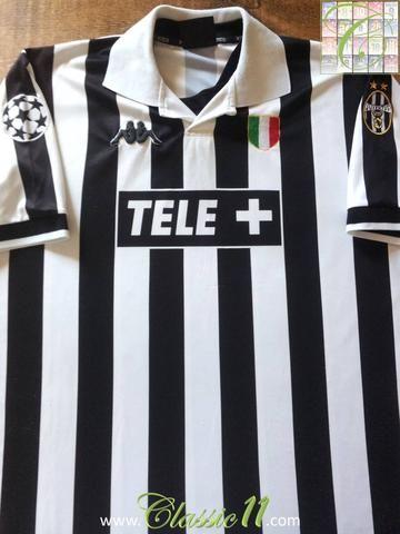 75b8c6520 Relive Juventus' 1998/1999 European season with this original Kappa home  football shirt.