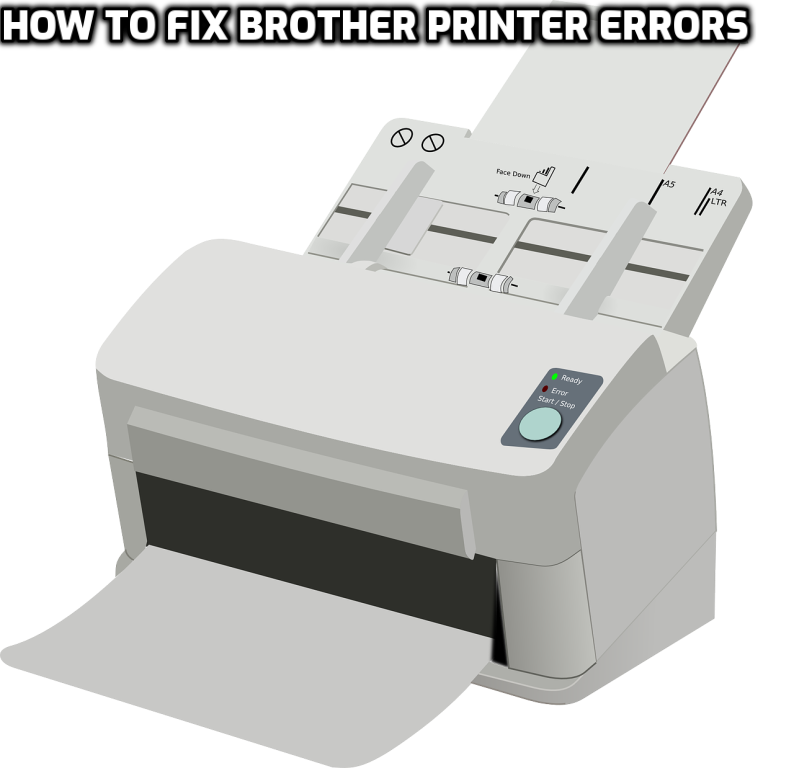 How to fix Brother Printer Errors (With images) Brother