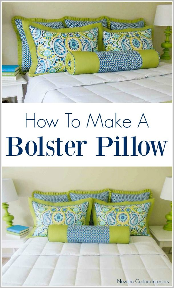 Craftsy Class Pillow #3 - The Bolster Pillow | Decoración gris ...