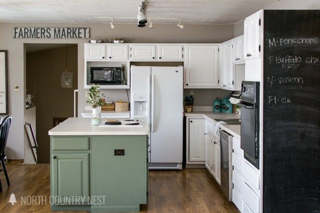 Best How To Repaint Painted Cabinets Repainting Kitchen 640 x 480