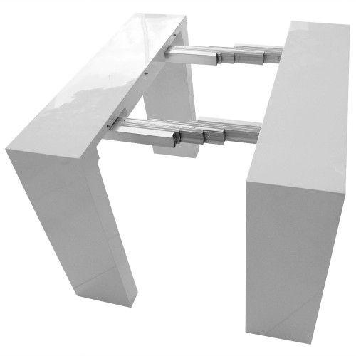 Rails En Aluminium De La Table Console Extensible Dining Room
