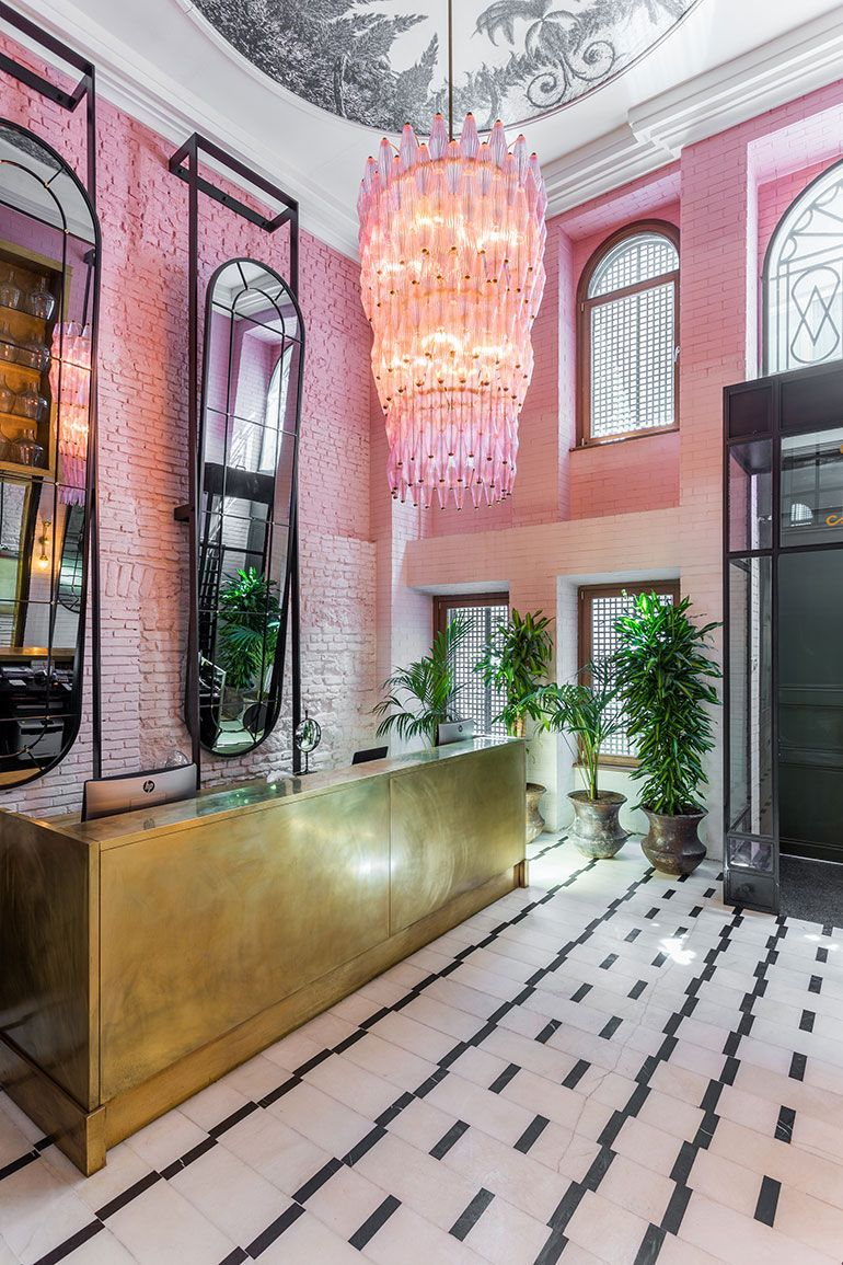 Eclectic blending of old and new at Istanbul's Room Mate Emir Hotel