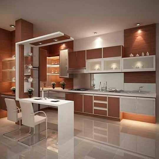 Kitchen Set | Architecture Interior Design & Consultants  WA : 08121319189  #kitchenset  #partisi #bedroom  #lemaripakaian  #konsultasidesign  #jasadesign  #3dimensi  #fasad  #dekorrumah  #parkit  #vynel #designlobby #Sofa  Email : wandy_architecture@consultant.com