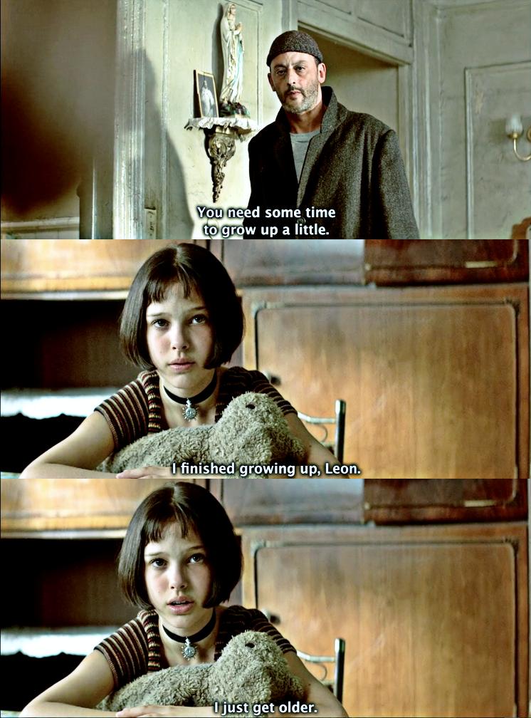 Leon The Professional Movie Quotes Cinema Movie Quotes The