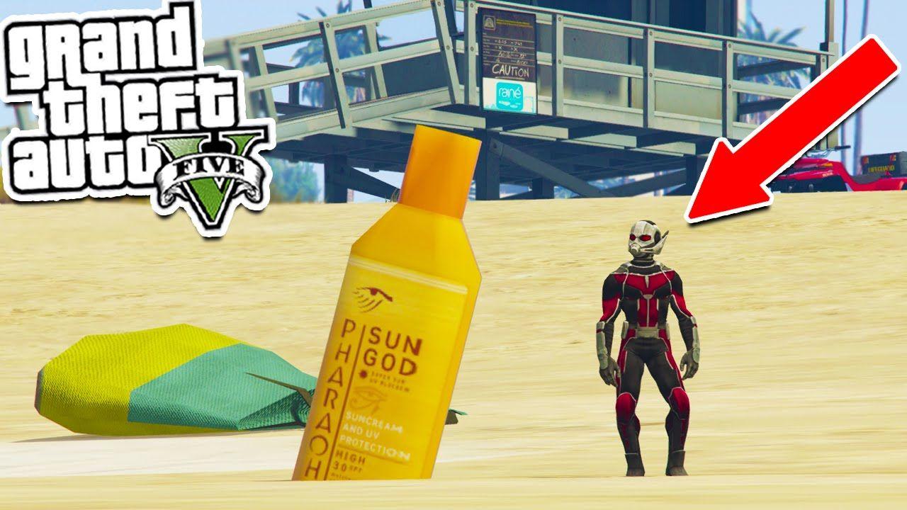GTA 5: ANT-MAN Vs THE HULK MOD - GTA 5 Mods Showcase (GTA 5 Mods