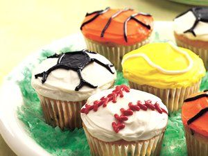 Celebrating A Win Score Big With Sweet And Sporty Ball Game