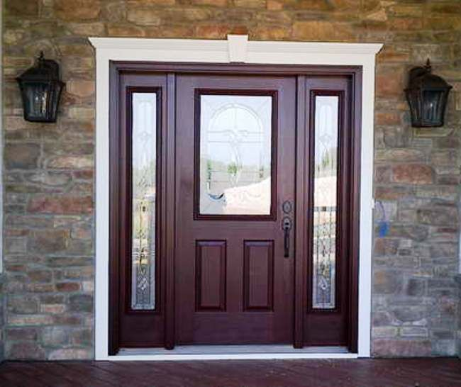 Exterior Doors Lowe S On Sale : Front entry doors glass lowes home design mannahatta