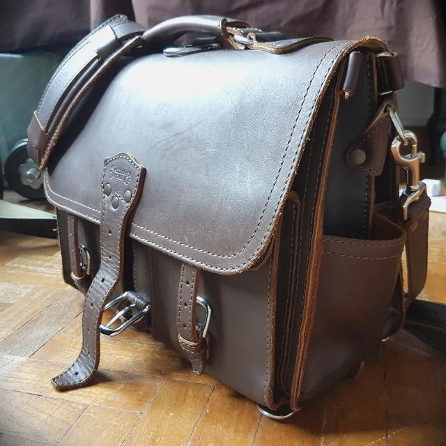 Buy Saddleback Leather Front Pocket Leather Briefcase Dark Coffee Brown In Singapore Singapore 100 Year Warra Saddleback Leather Mens Leather Bag Leather