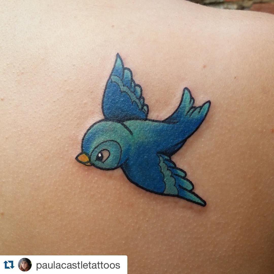 Cinderella blue birds …paint idea for chervrolet | Mother/Daughter ...