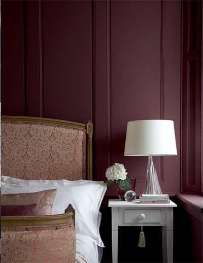 couleur lie de vin peinture lie de vin couleur de peinture pour salon le meuble a t relook. Black Bedroom Furniture Sets. Home Design Ideas