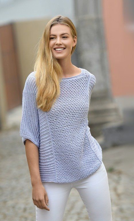 Photo of Strickanleitung Oversized Pulli Linie 425 Silcona