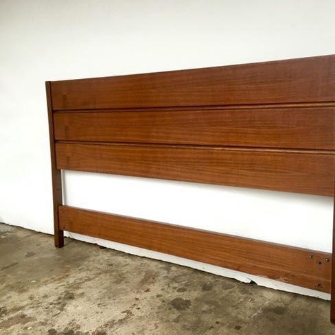 Best Teak Mid Century Modern Queen Platform Bed Full Size 400 x 300