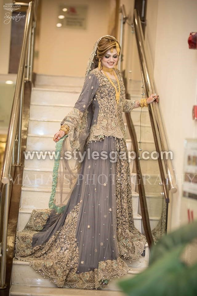 543d4bb110 Latest Beautiful Walima Bridal Dresses Collection 2019-20 for ...