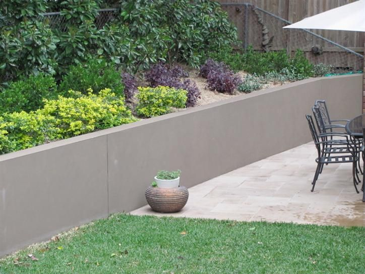 Modern Concrete Retaining Walls Google Search Outdoor
