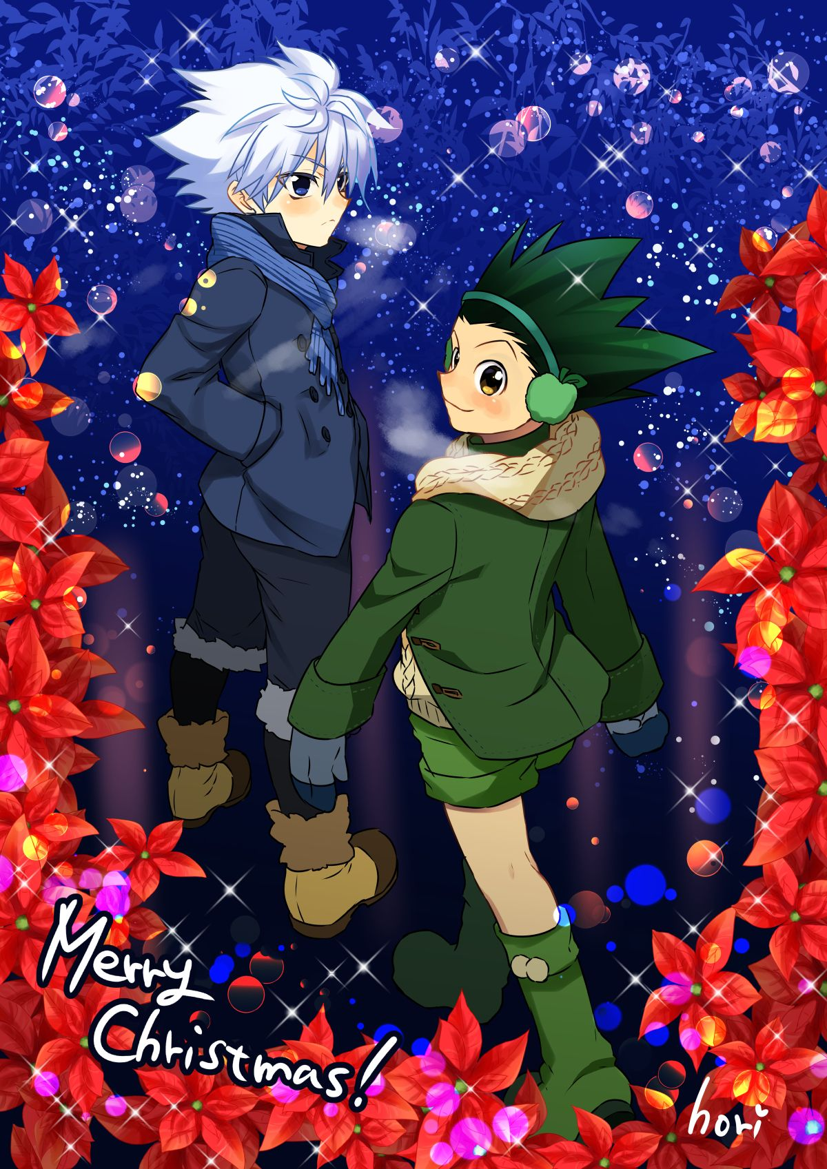 Christmas Anime Wallpaper Hunter X Hunter