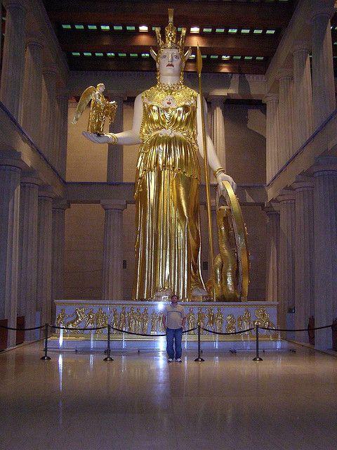 Replica Of Athena Parthenos Parthenon Nashville Nashville Trip Parthenon