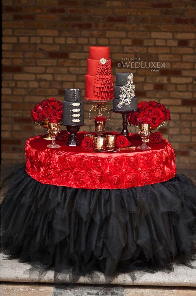 stunning wedding cake table skirt dcor ideas