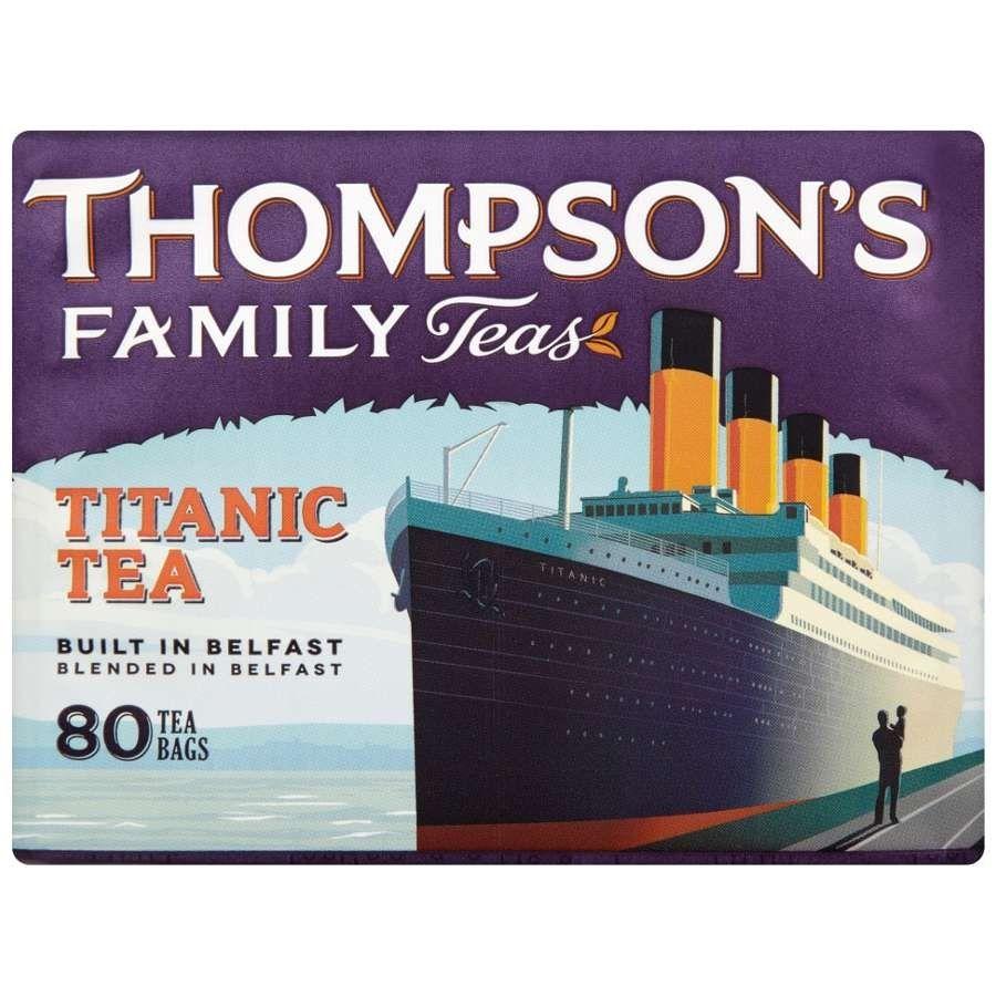 Punjana Titanic 80 Tea Bags (Best By Oct 2021) Titanic