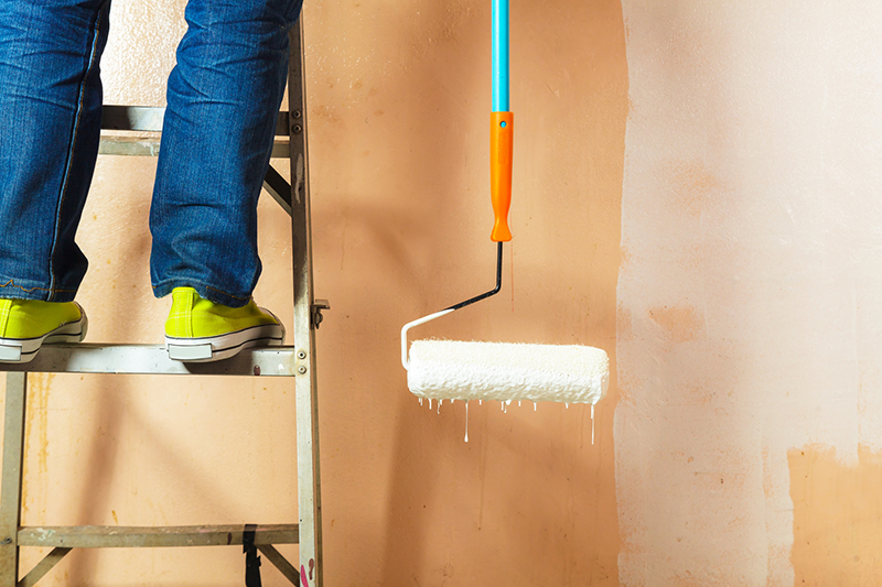 Wall Painting Should You Use A Brush Or A Sprayer Pinturas De