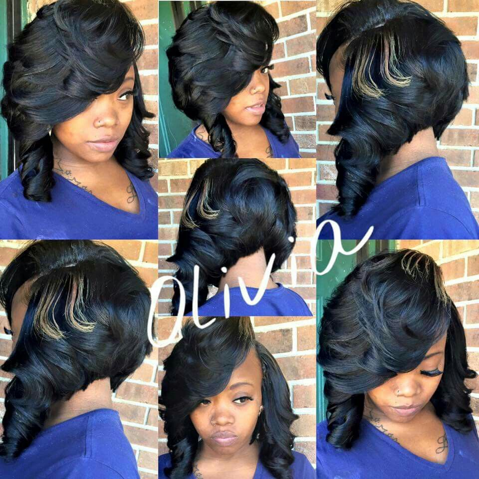 Curly Bob Fb Olivia Johnson Stylist With Images Hair