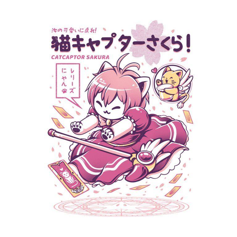 Catcaptor ilustrata in 2020 sakura anime merchandise