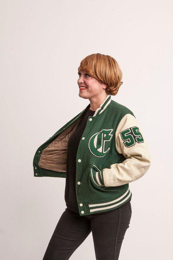 Vintage 80's CHEVIGNON Original Baseball Jacket par ...