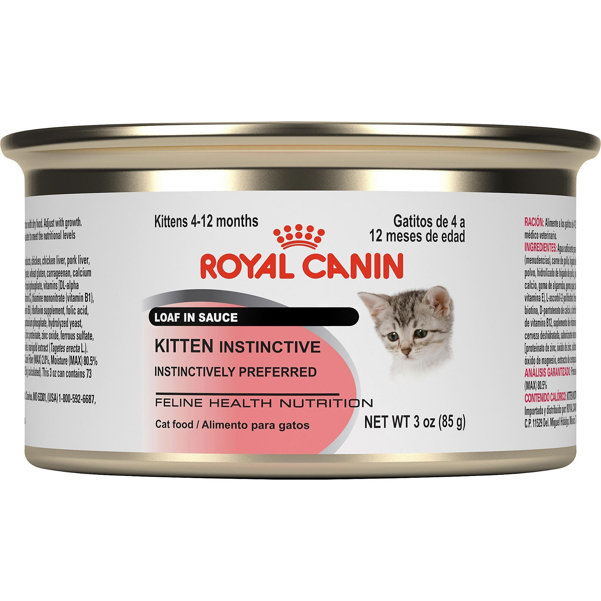 Royal Canin Feline Health Nutrition Kitten Instinctive Loaf In