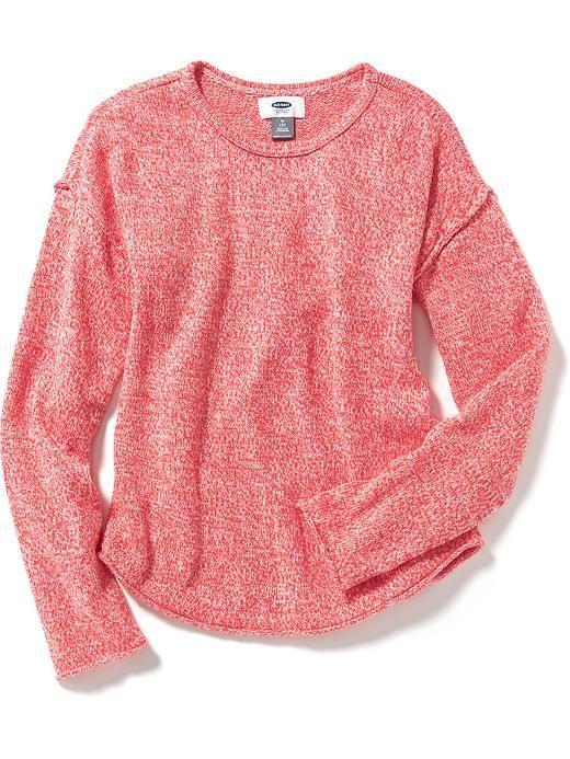 Girls Drop Shoulder Sweater Livy Pinterest