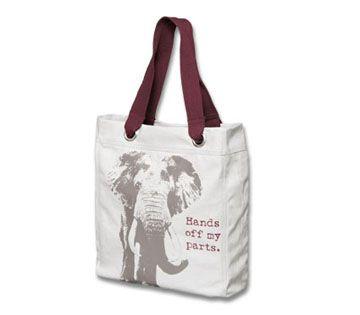 "World Wildlife Fund | ""Stop Wildlife Crime"" Canvas Bag - WWF Gift Center"