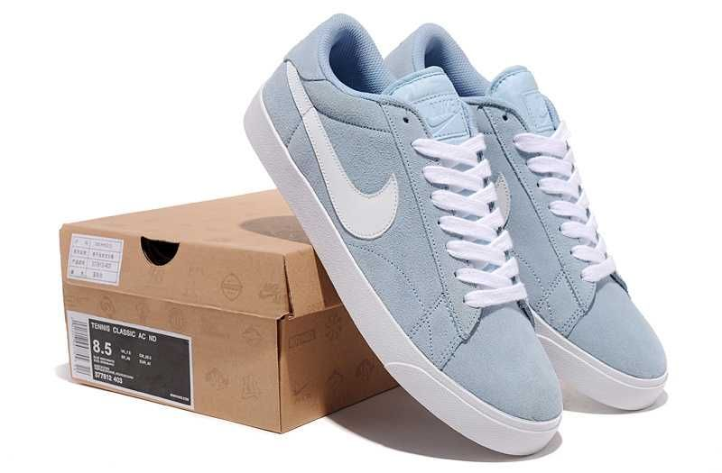 Nike Blazer Low Classic Ac ND Suede Mens Shoes Light Sky Blue Nike Blazer  Mens Nike