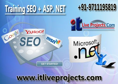 #seo_training #.net #developer_training #live_project_training_in_.net http://www.itliveprojects.com/ Contact It Live Projects : +91-9711195819