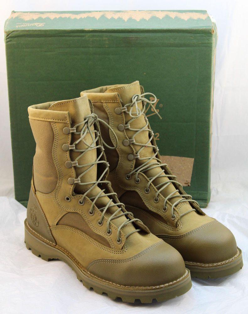 "NIB DANNER USMC RAT Size 12 Regular 8"" Steel Toe Mens"