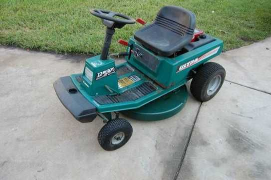 Old Rear Engine Murray Riding Lawn Mower Ultra