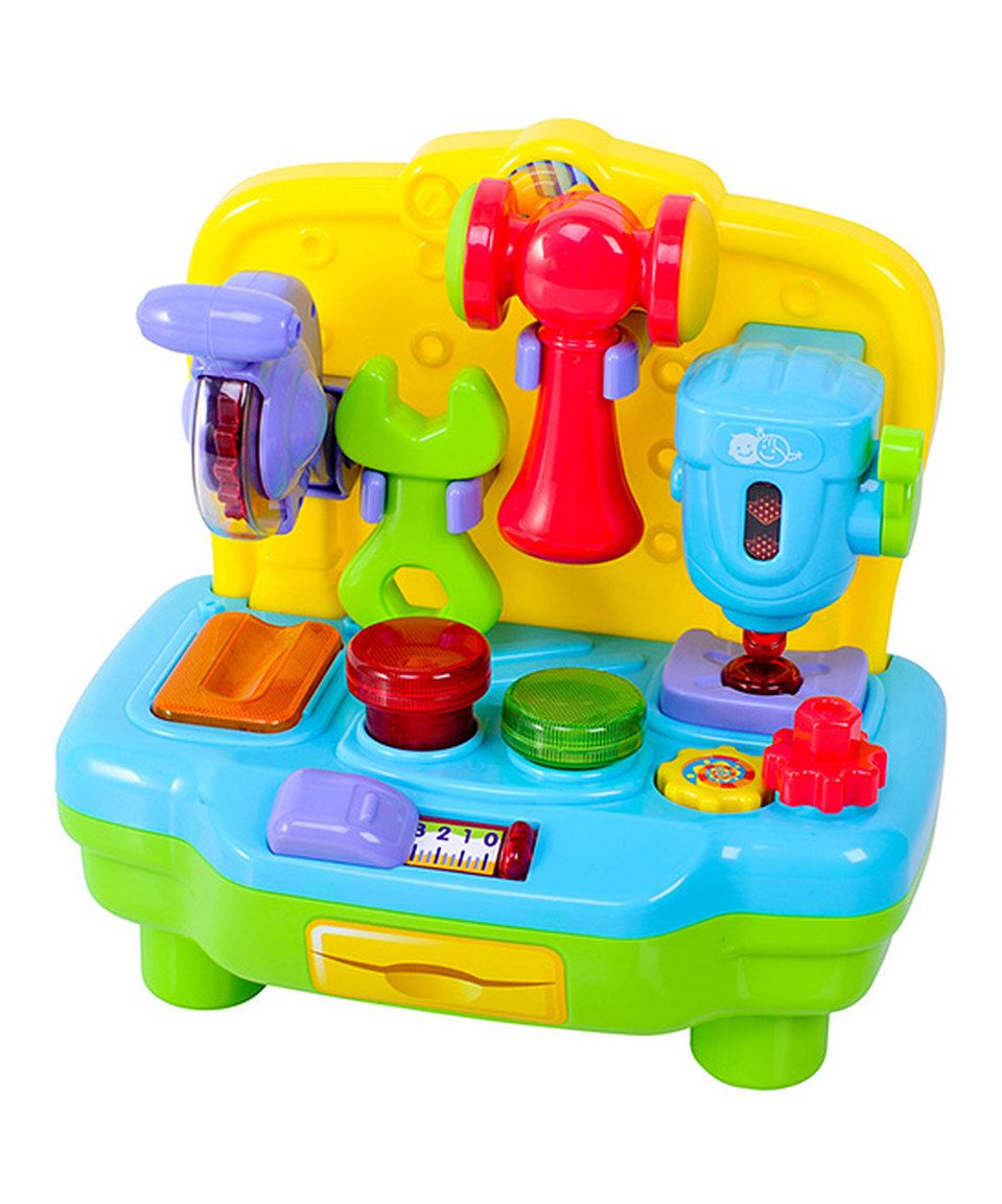 Strange This My First Work Station Set By Playgo Is Perfect Creativecarmelina Interior Chair Design Creativecarmelinacom