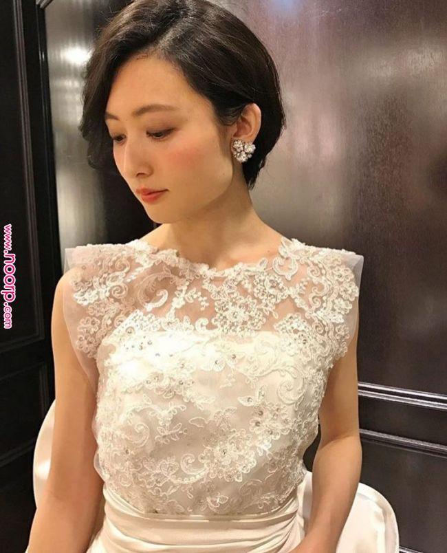 ショートヘアの花嫁さま必見 私らしいドレスの選び方 結婚式