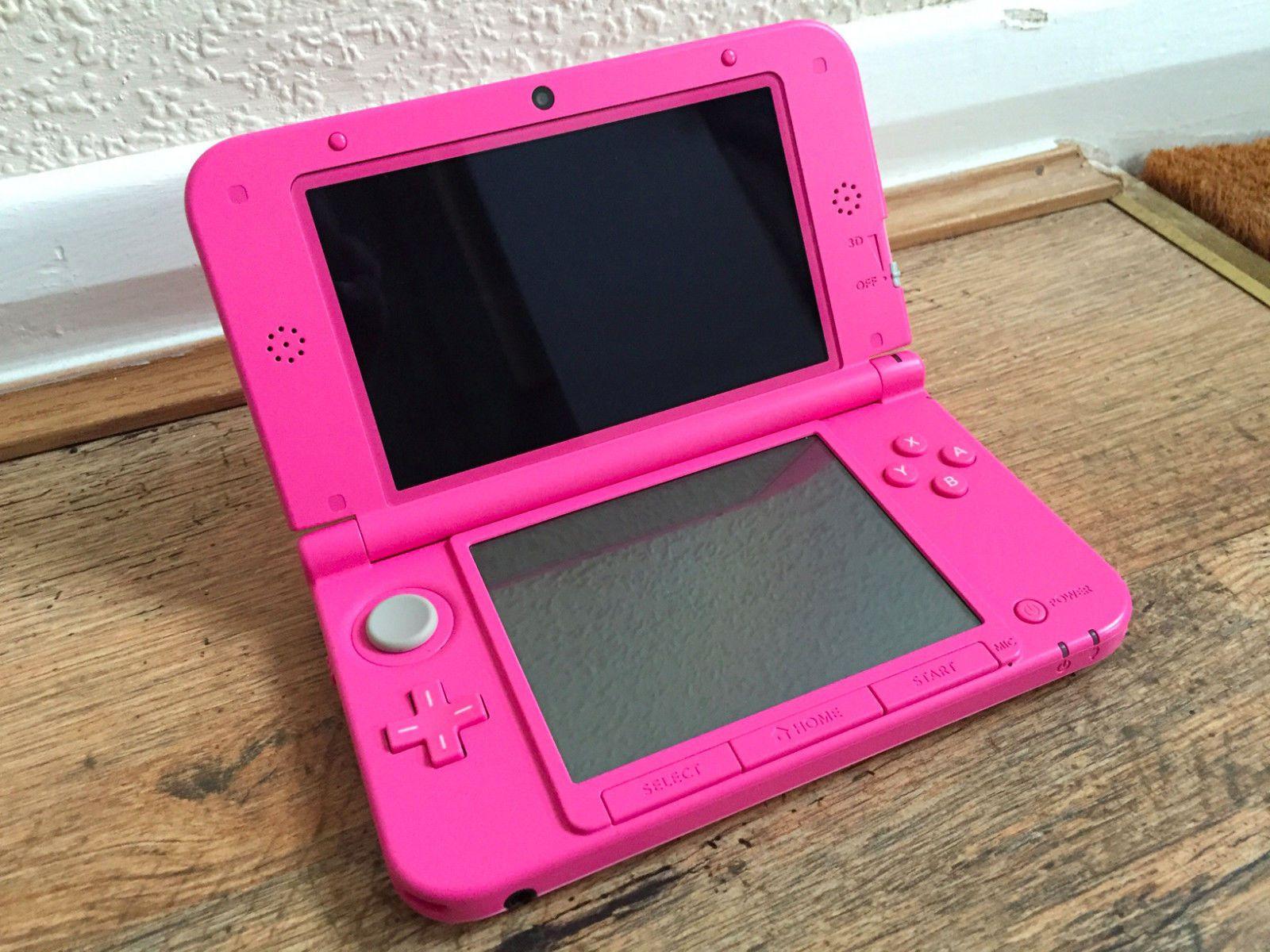 Nintendo 3DS XL Pink Console in great condition https://t.co/JVVyZxpLut https://t.co/MJ73lUE2cU
