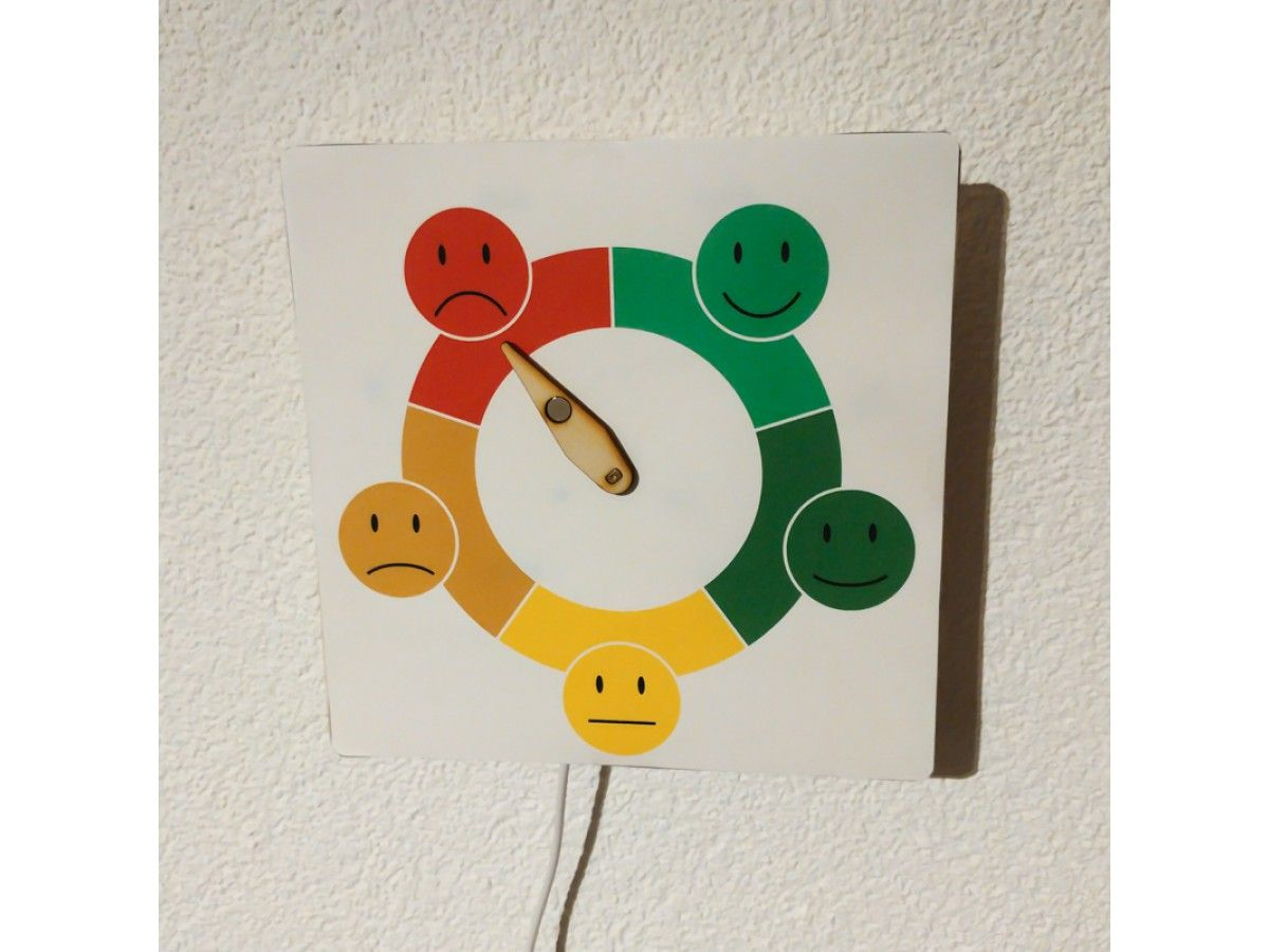 Hier Zeige Ich Euch Wie Ihr Ein Stimmungsbarometer Basteln Konnt Um Euer Gemutszustand Ubers Internet Ana Stimmungsbarometer Vatertag Geschenke Basteln Basteln