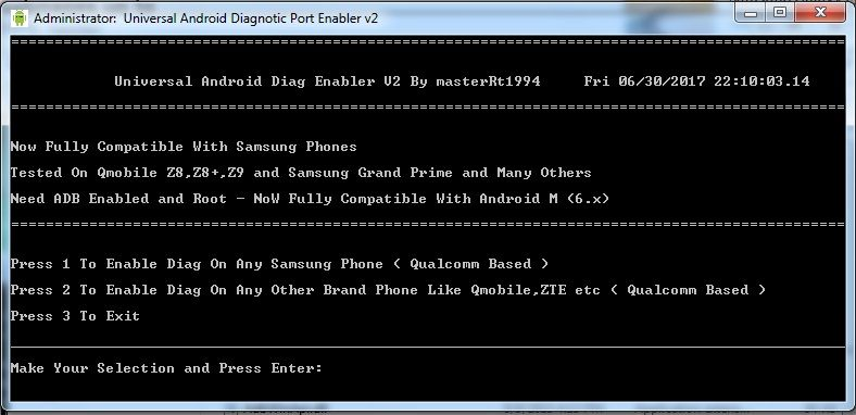 how to enable qualcomm diag port,flash tool,firmware and all