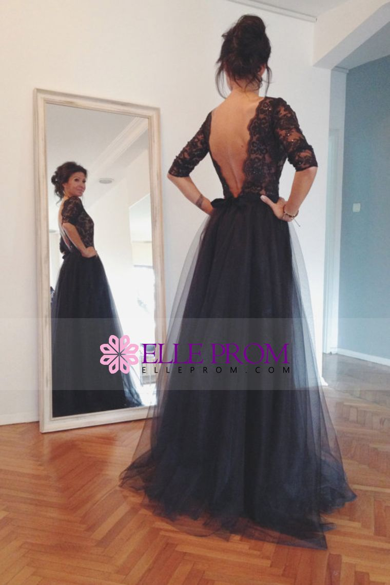 Evening long dresses with long sleeves - the best outfit for the celebration