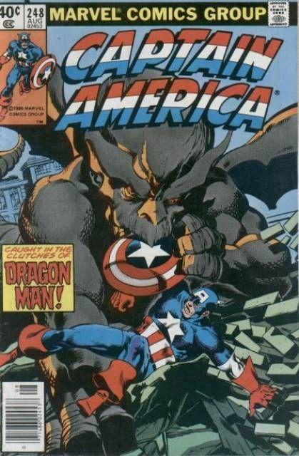 Resultado de imagem para Captain America (1968) n° 248/1980 - Marvel Comics